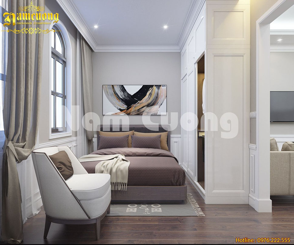 Lưu ý trong thiết kế nội thất phòng ngủ chung cư