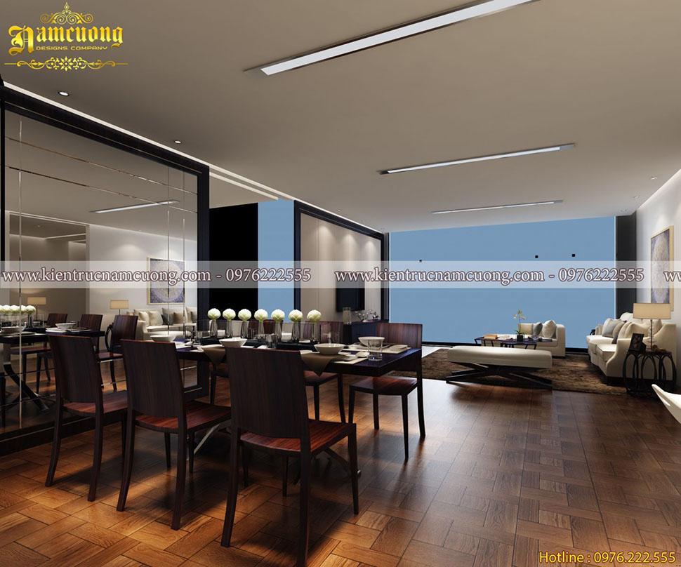 Mẫu thiết kế nội thất đẹp cho chung cư hiện đại tại Hải Phòng - CCHD 013