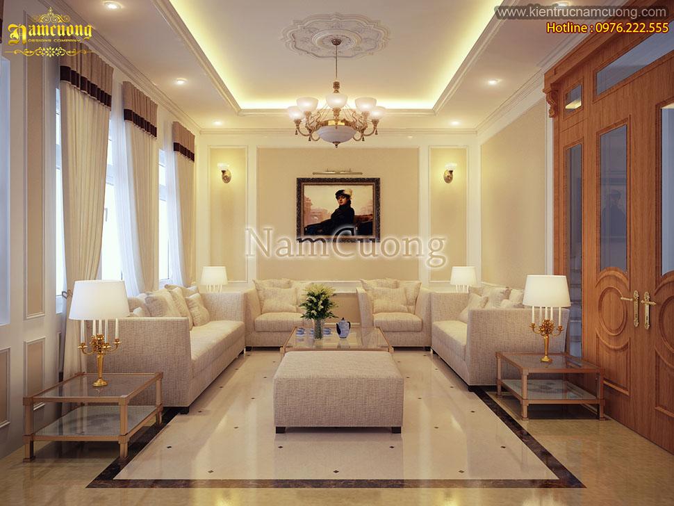 Thiết kế nội thất tân cổ điển cho căn hộ Vincom Hải Phòng - NTCCCD 005