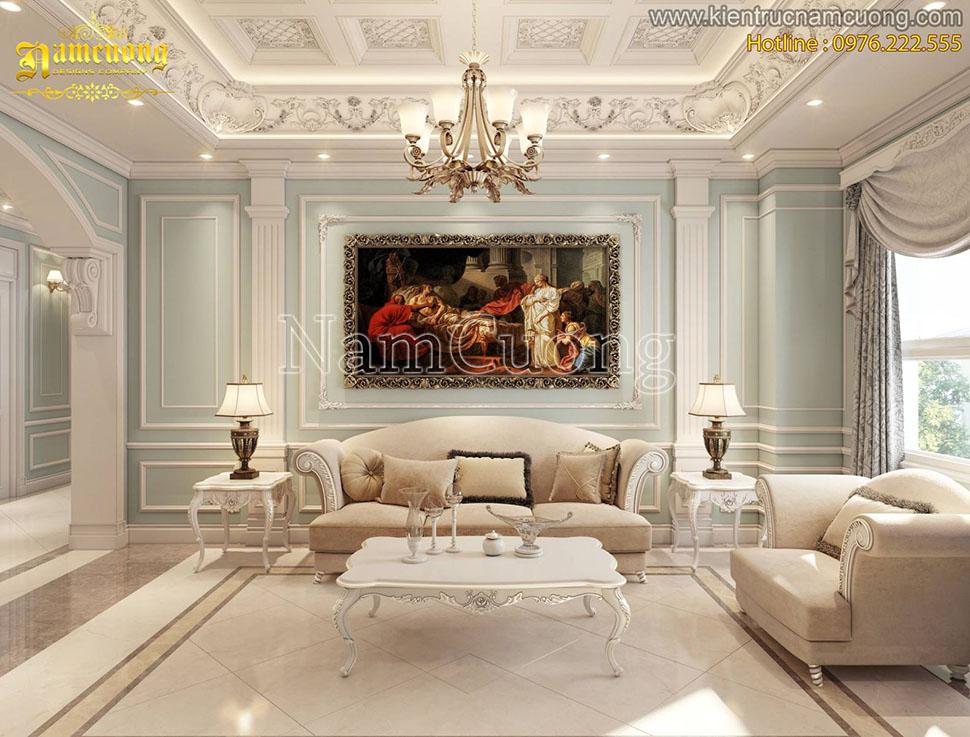 Thiết kế nội thất dành cho căn hộ chung cư cao cấp tại Hà Nội - NTCD 10