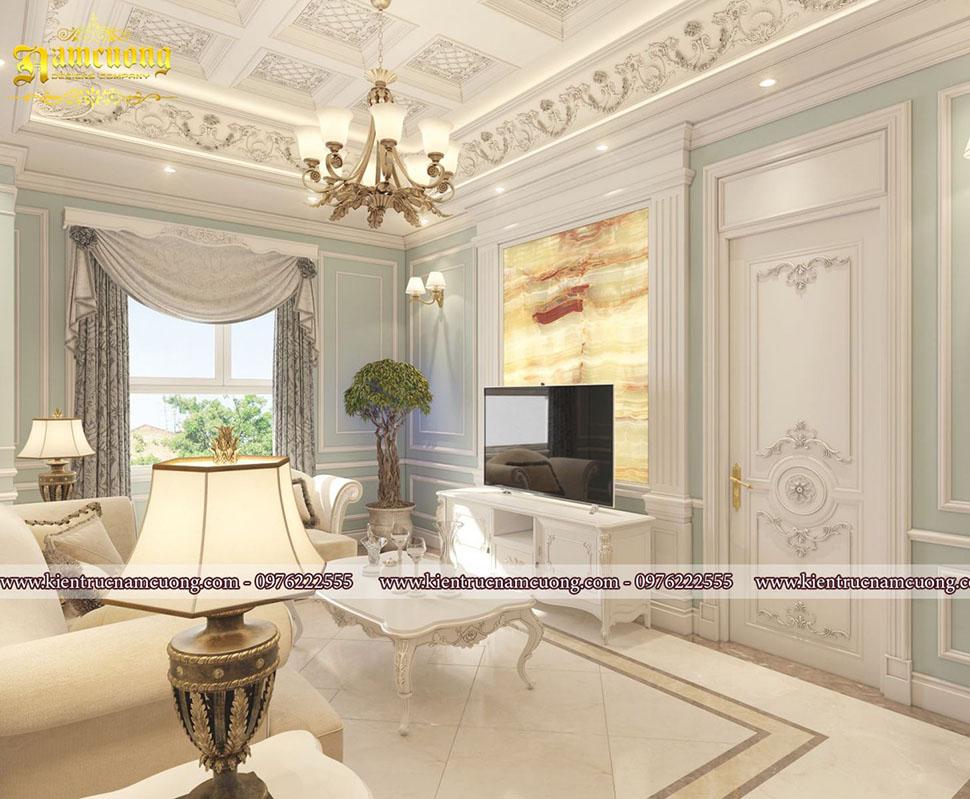 Căn hộ chung cư phong cách tân cổ điển sang trọng tại Sài Gòn - NTCCCD 011
