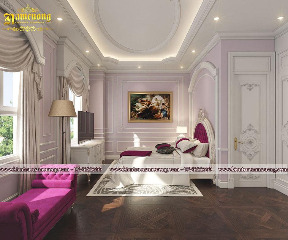 Vẻ đẹp tinh tế với mẫu nội thất phòng ngủ trong chung cư tại Sài Gòn