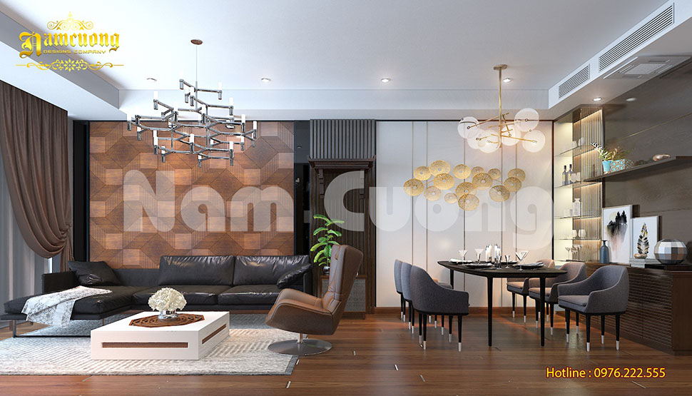 Nội thất hiện đại-Mẫu thiết kế nội thất biệt thự hiện đại