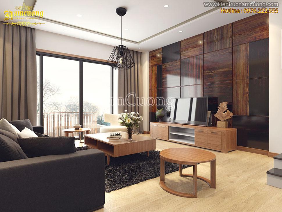 Thiết kế nội thất biệt thự hiện đại tại Hải Phòng - BTHD 005
