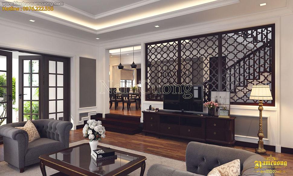 Mẫu nội thất đẹp cho biệt thự hiện đại châu Âu - BTHD 006