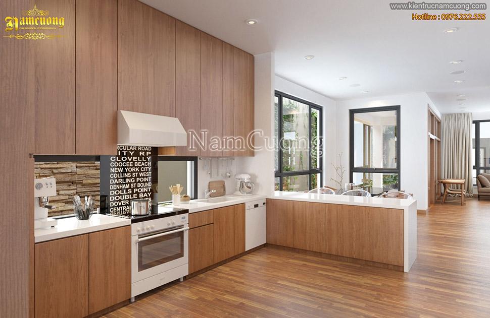 Tổng hợp các mẫu nội thất phòng bếp đẹp cho căn nhà hiện đại