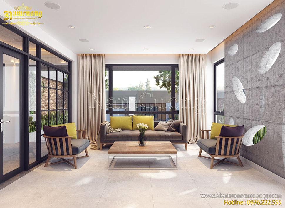 Thiết kế nội thất biệt thự hiện đại tại Hải Phòng - NTBTHD 008