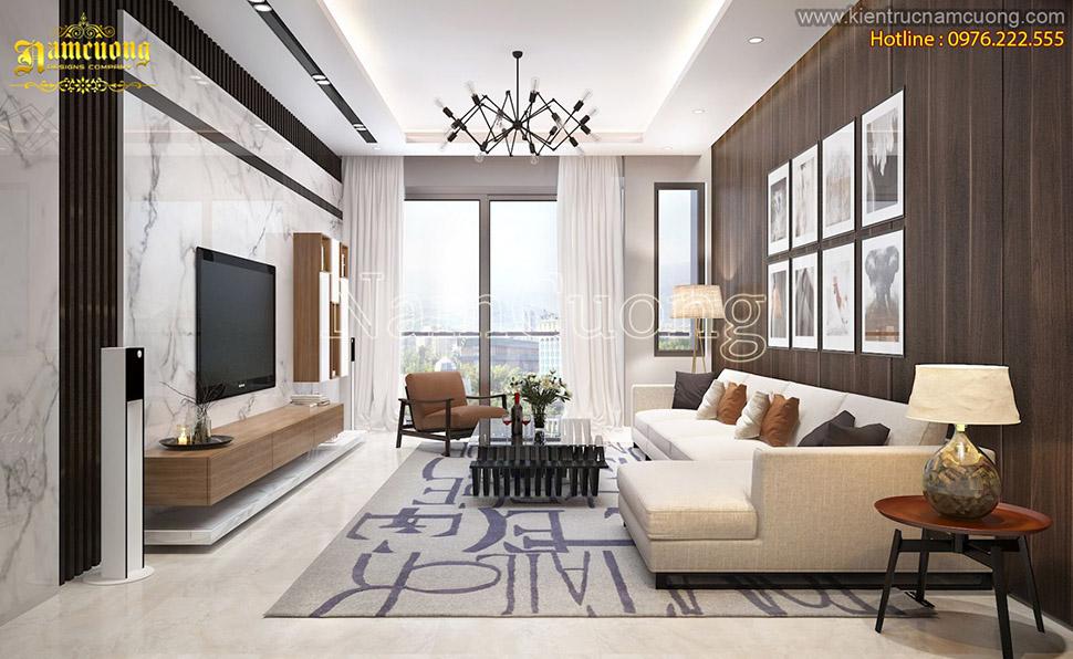 Tổng hợp những mẫu phòng khách hiện đại đẹp cho biệt thự