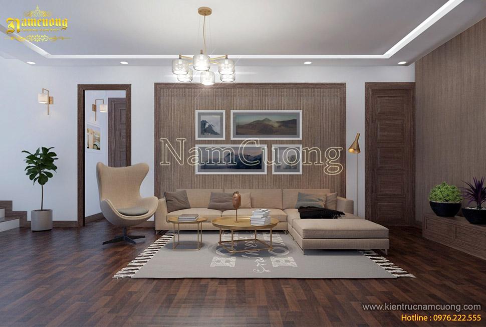 Thiết kế toàn bộ nội thất cho biệt thự hiện đại tại Lạng Sơn - NTBTHD 020