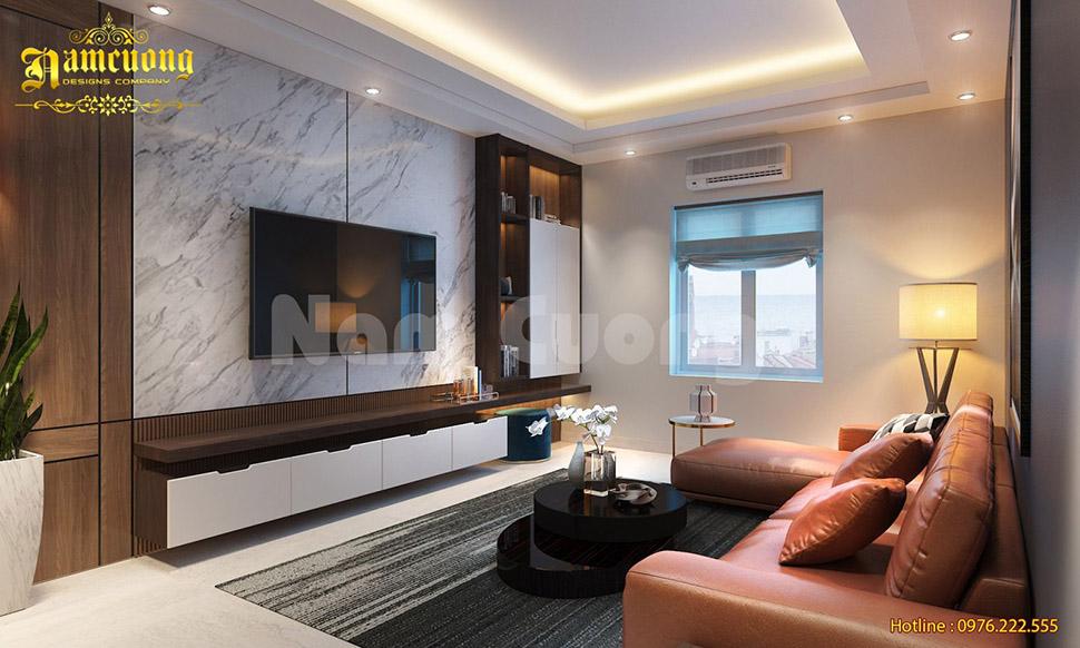 Mẫu thiết kế nội thất biệt thự hiện đại - NTBTHD 021