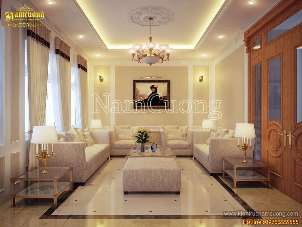 Mẫu thiết kế nội thất căn hộ chung cư hiện đại tại Hải Phòng - NTCCHD 009