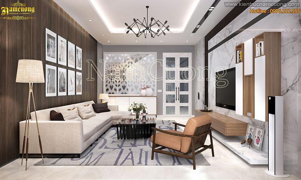 Mẫu thiết kế nội thất biệt thự hiện đại tại Hà Nội - NTBTHD 019