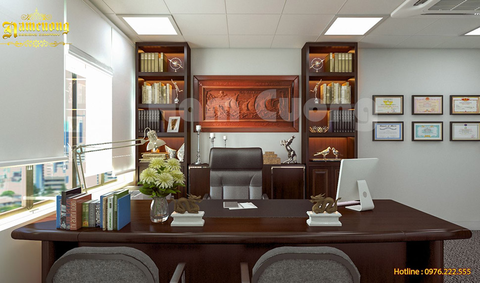 Thiết kế nội thất văn phòng hiện đại tại Hải Phòng - NTVPHD 001
