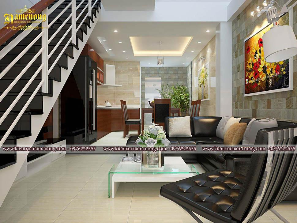 Tổng hợp những mẫu thiết kế phòng khách hiện đại ấn tượng của NCDC