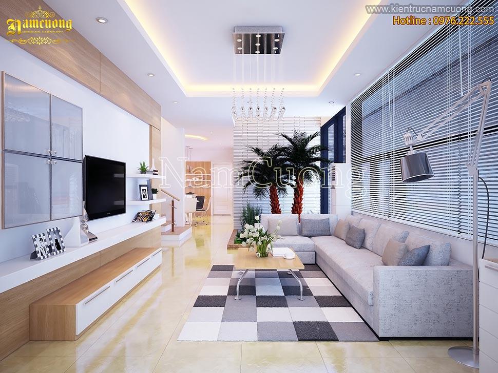Những mẫu thiết kế nội thất phòng khách hiện đại đẹp
