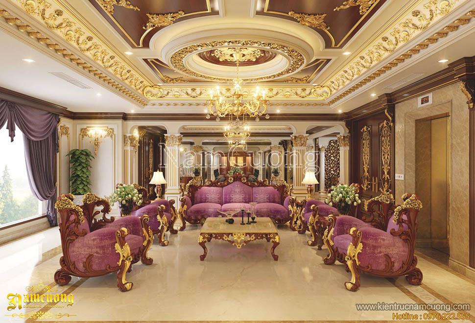 Tổng hợp các mẫu thiết kế nội thất biệt thự Pháp đẹp ấn tượng năm 2017