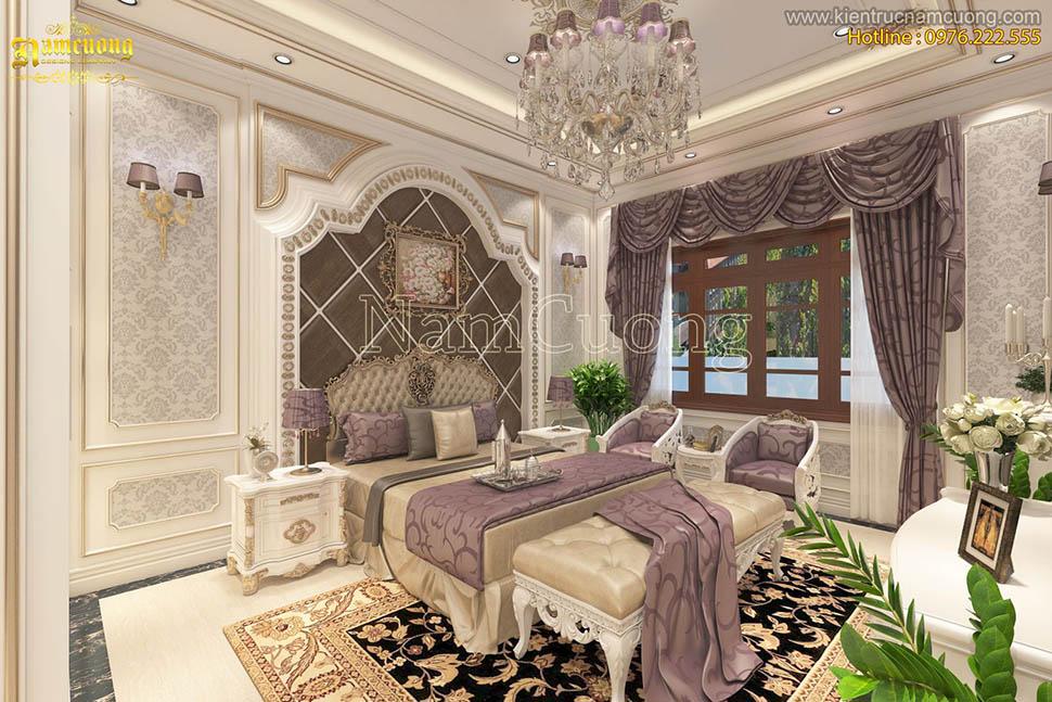 Mẫu thiết kế nội thất đẹp cho biệt thự Pháp tại Quảng Ninh - NTBP 011