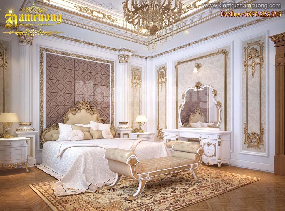 Sang trọng mẫu nội thất cho biệt thự Pháp cổ điển tại Hà Nội
