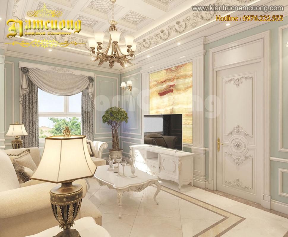 Mẫu nội thất chung cư tân cổ điển đẹp tại Sài Gòn - NTTCD 025