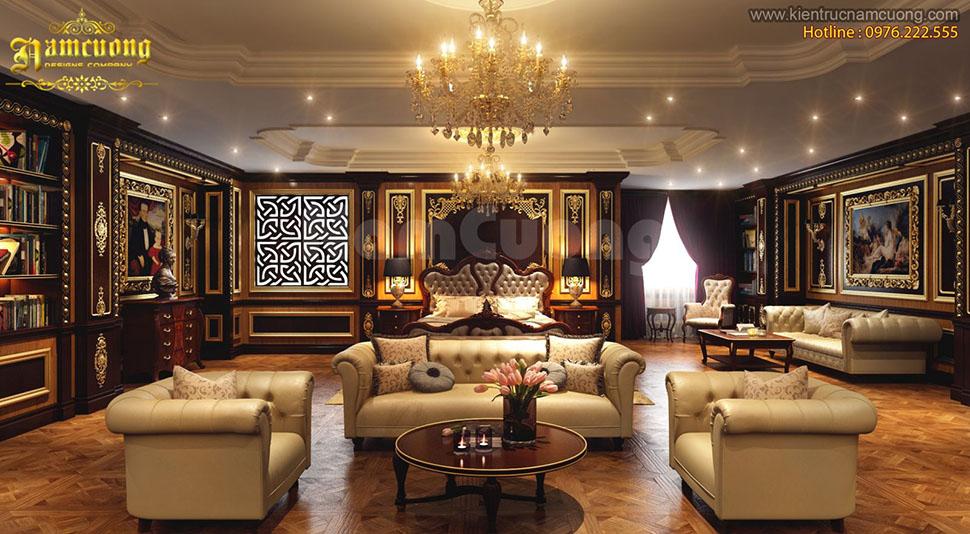 Thiết kế nội thất Pháp cho căn hộ penthouse đẳng cấp tại Sài Gòn - NTCCP 001