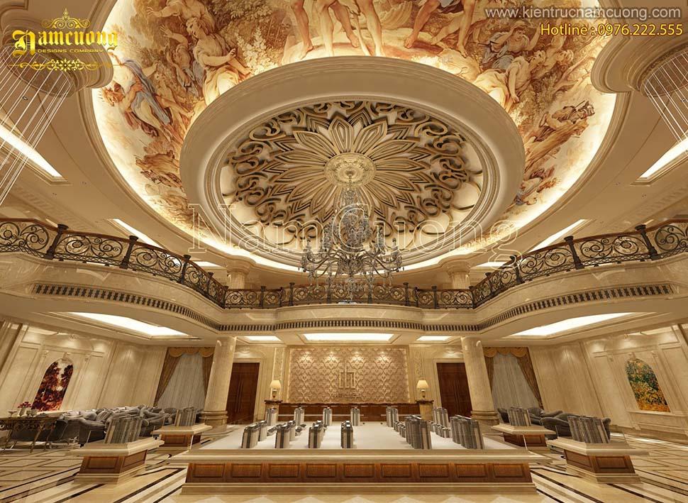 Những thiết kế nội thất phong cách cổ điển Pháp sang trọng đẳng cấp