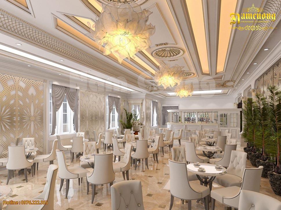 Thiết kế nội thất khách sạn tân cổ điển  đẹp tại Lạng Sơn - NTKSCD 0013