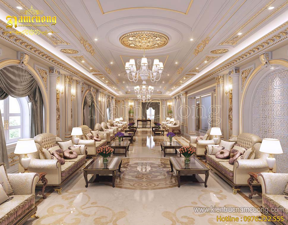 Những mẫu nội thất phong cách cổ điển Pháp sang trọng và đẳng cấp