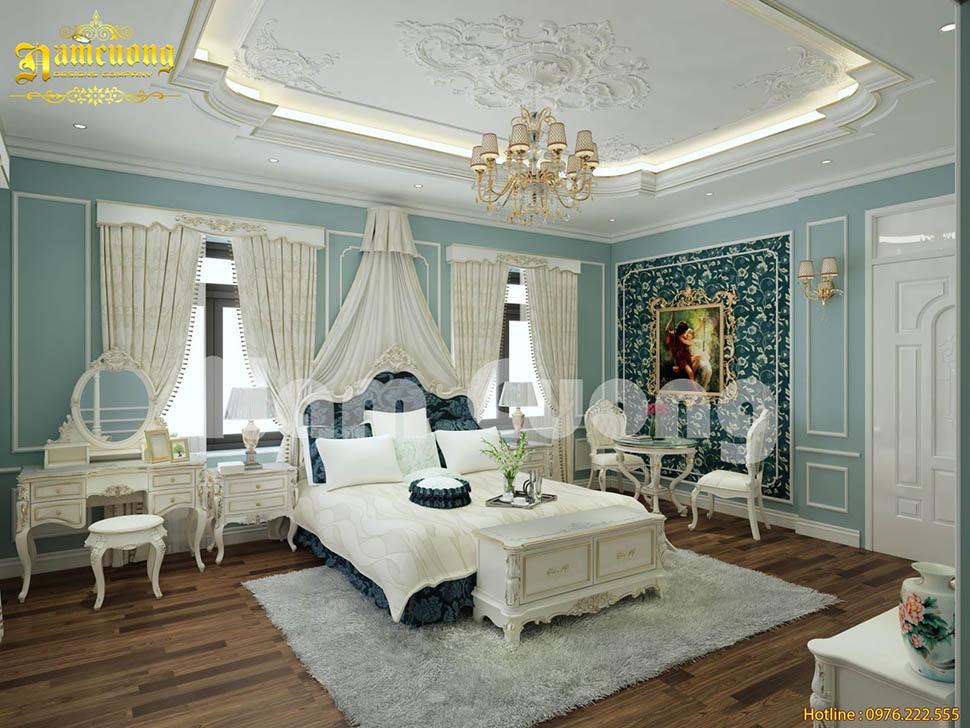 Xu hướng mẫu thiết kế phòng ngủ tân cổ điển