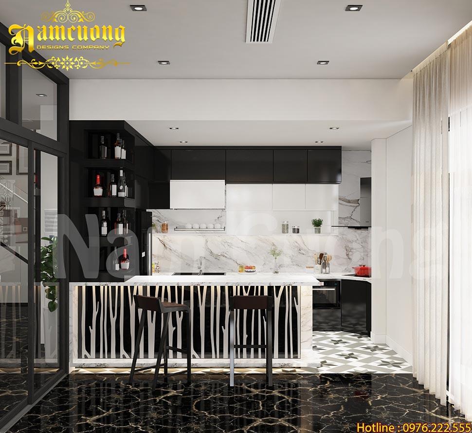 Những lưu ý để mẫu thiết kế nội thất phòng bếp trở nên lung linh