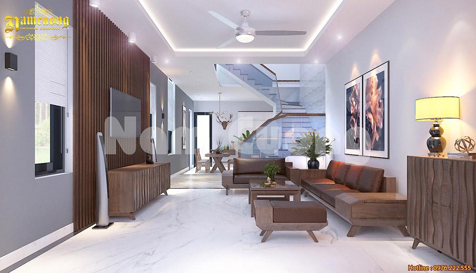 Chọn lựa phong cách ấn tượng cho nội thất phòng khách hiện đại