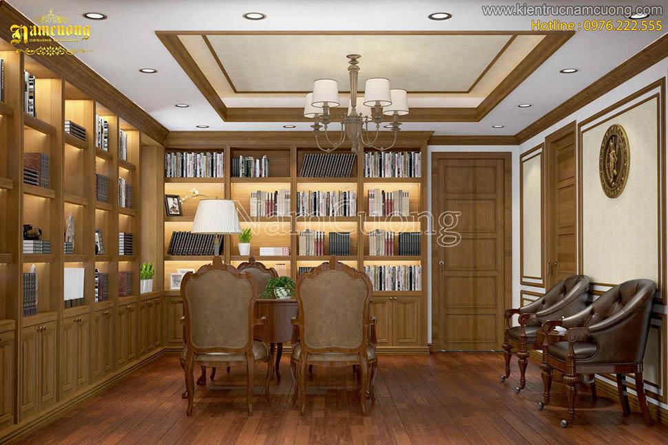 Những mẫu thiết kế nội thất phòng làm việc đẹp tại gia