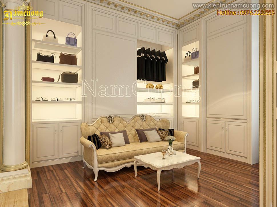 Cùng nhìn ngắm những mẫu thiết kế phòng thay đồ đẹp