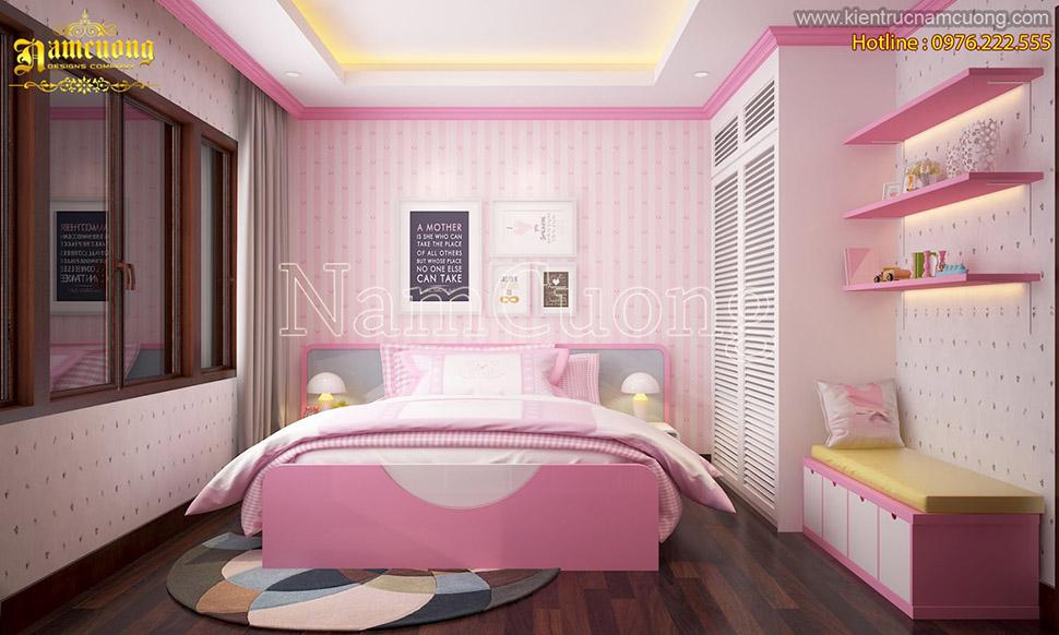 Thiết kế nhà đẹp với không gian riêng dành cho trẻ