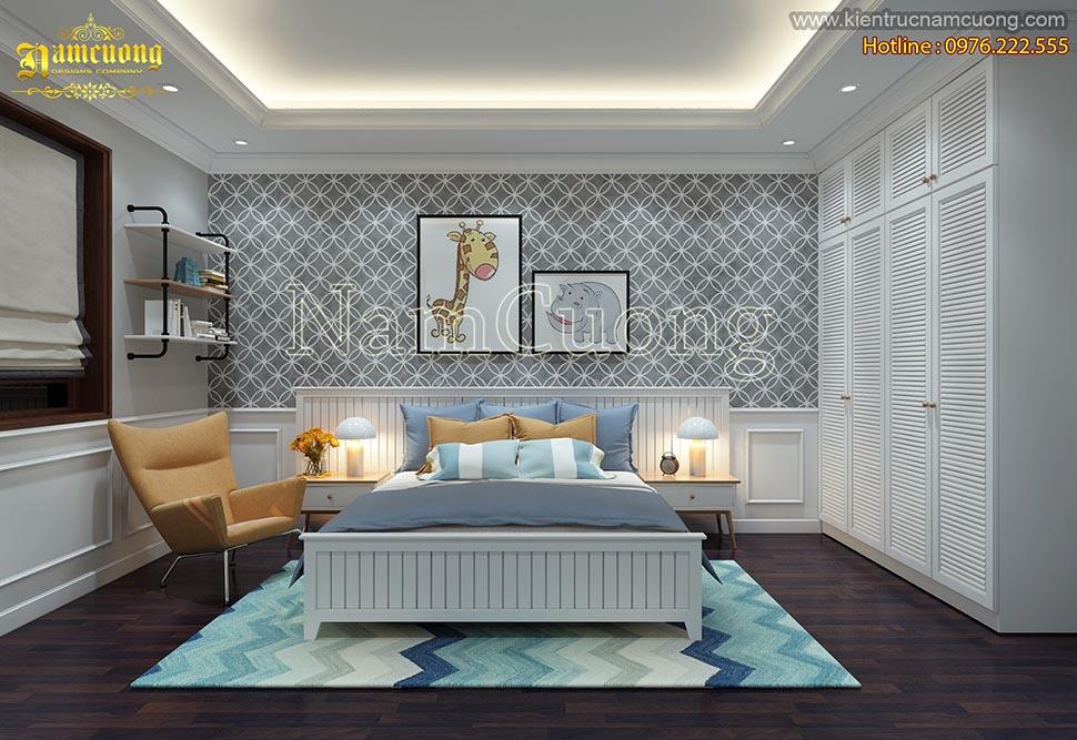 Những mẫu thiết kế phòng ngủ đẹp với phong cách hiện đại dành cho bé - PNHD 020