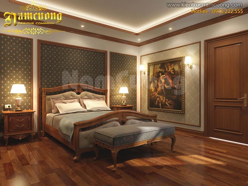 Những mẫu thiết kế phòng ngủ màu nâu gỗ ấn tượng của NCDC