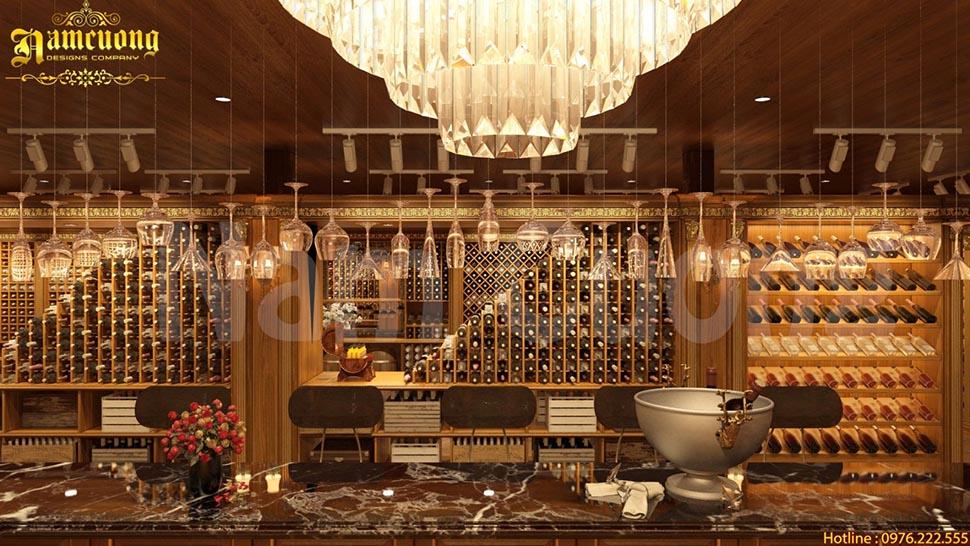 Những gợi ý thiết kế tủ rượu đẹp năm 2018