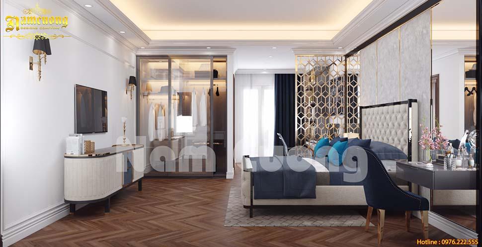 Ấn tượng các mẫu thiết kế phòng ngủ biệt thự hiện đại