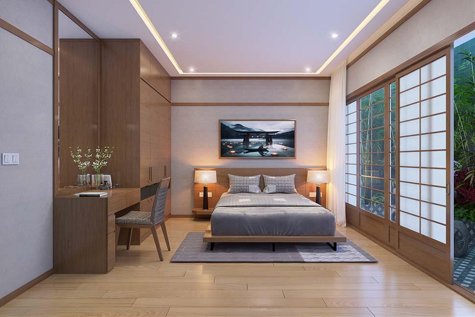 Thiết kế phòng ngủ cao cấp, sang trọng