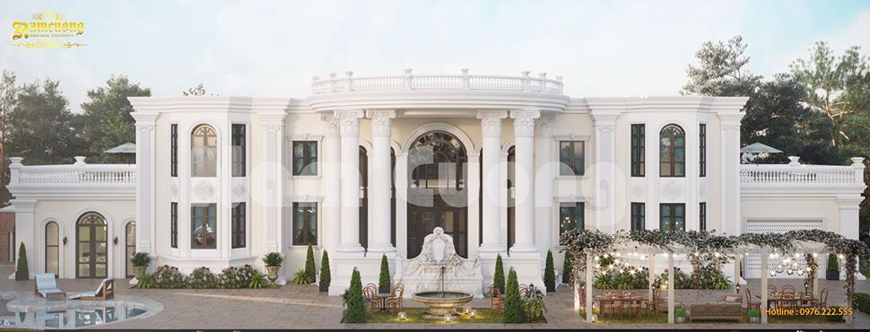 Mê mẩn say đắm với những mẫu thiết kế biệt thự sân vườn đẹp ấn tượng