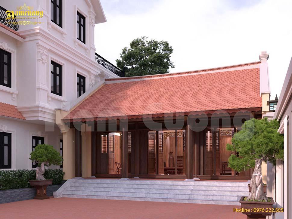 Thiết kế nhà thờ 3 gian truyền thống sang trọng