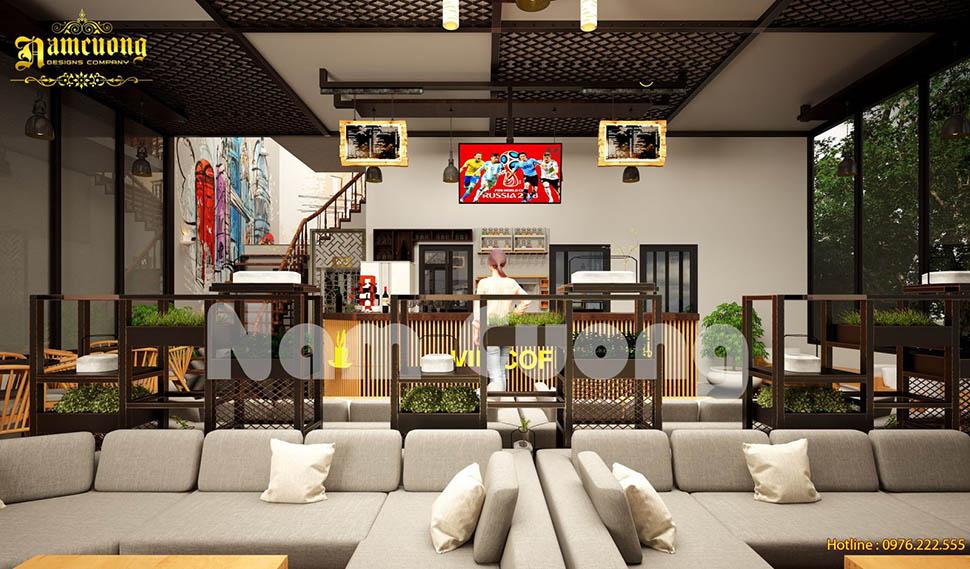 Các ý tưởng thiết kế quán cafe đẹp và hút khách