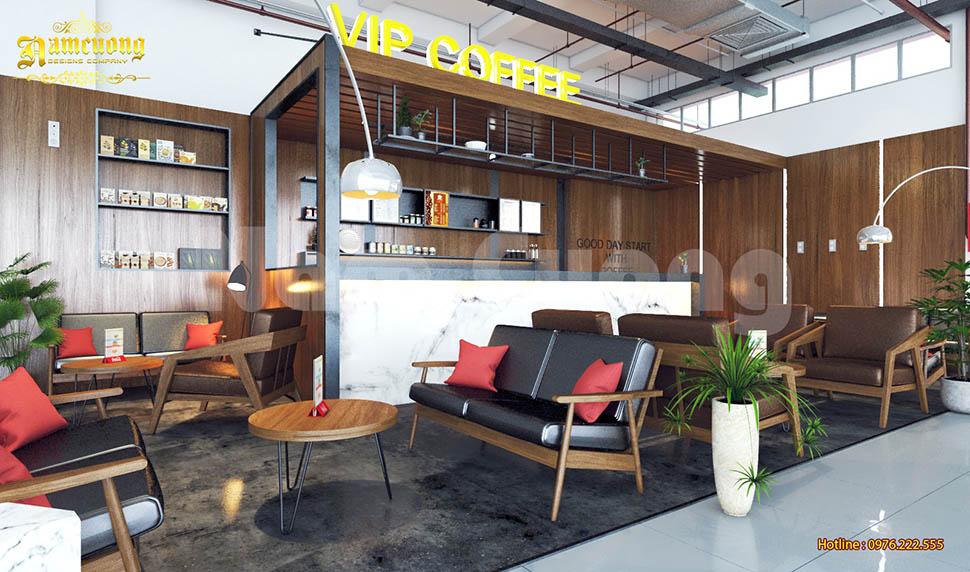 Thiết kế quán cafe nhỏ thu hút khách