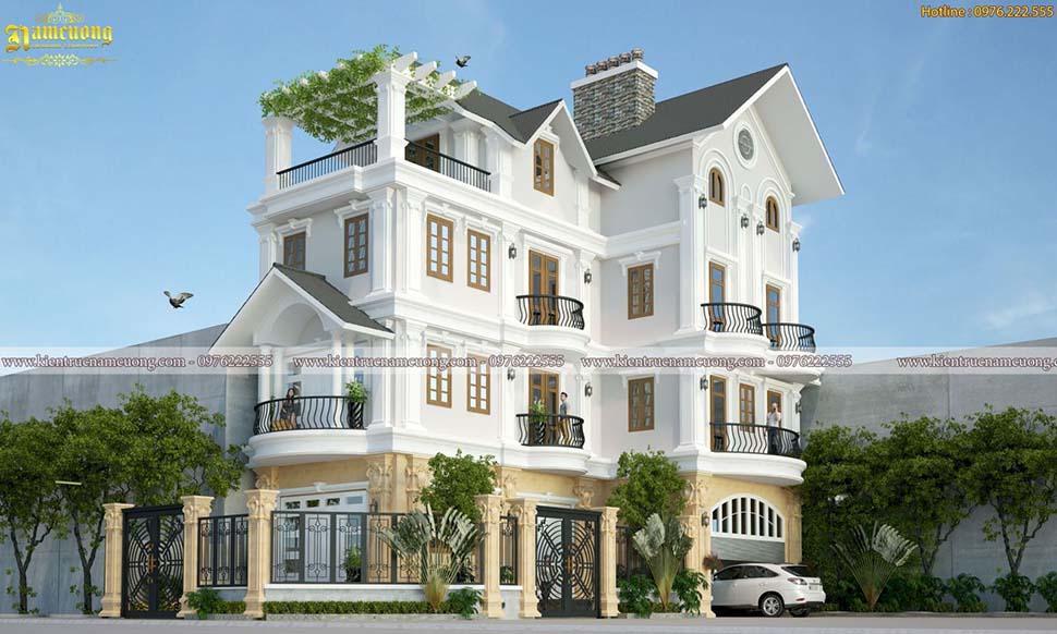 Các mẫu thiết kế biệt thự 4 tầng đẹp và ấn tượng nhất