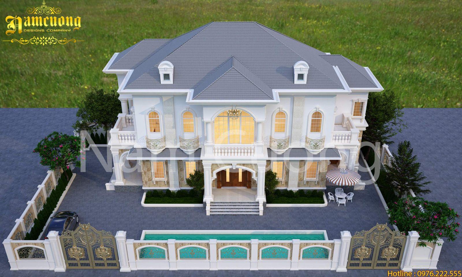 Biệt thự tân cổ điển - tinh hoa của phong cách cổ điển và hiện đại