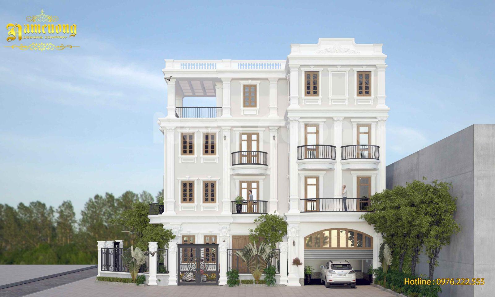 Biệt thự tân cổ điển-phong cách kiến trúc làm hài lòng mọi chủ đầu tư