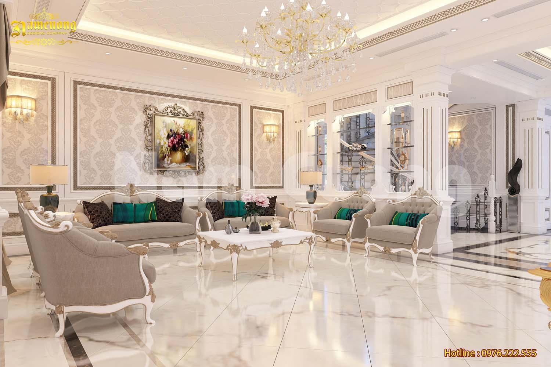 Thiết kế nội thất biệt thự Pháp đẹp tại Vinhomes