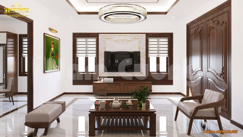 Mẫu thiết kế nội thất cho biệt thự 3 tầng tại Hải Phòng