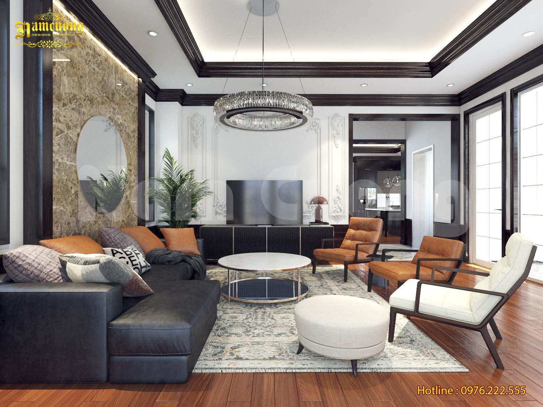 Thiết kế nội thất biệt thự tân cổ điển hot nhất 2019