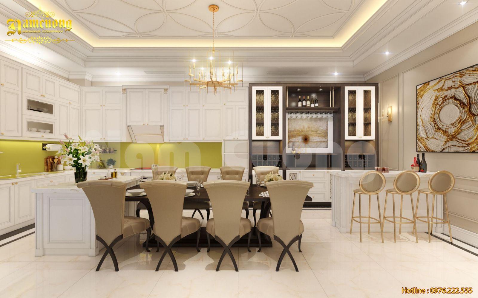 Mẫu thiết kế nội thất biệt thự phố 4 tầng-CĐT Bùi Mạnh Lân
