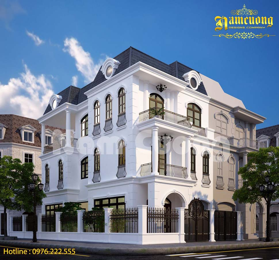Các mẫu thiết kế kiến trúc và nội thất biệt thự Vinhomes đẹp
